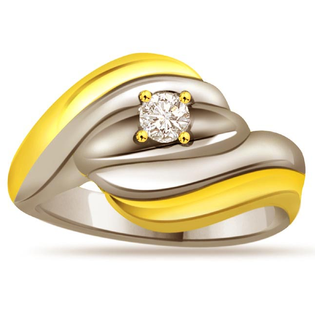 Solitaire Diamond Gold rings SDR608
