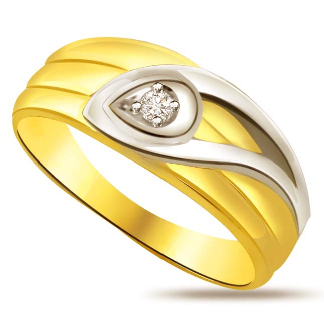 Solitaire Diamond Gold rings SDR614