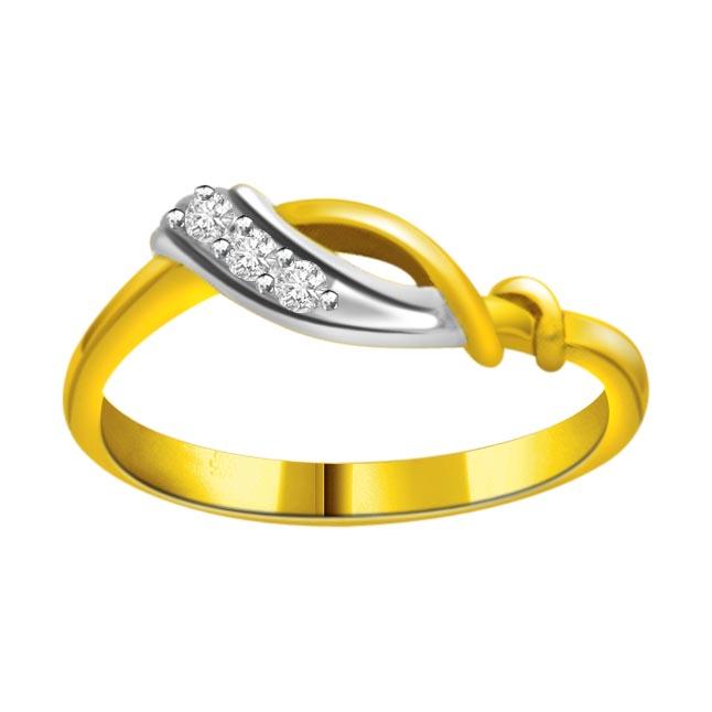 Classic Diamond Gold rings SDR616 -3 Diamond rings