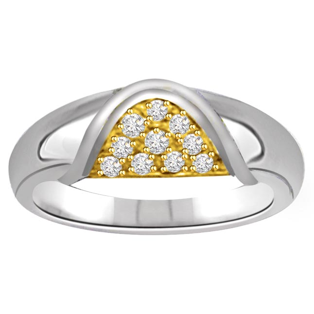 Classic Diamond 14kt Gold rings SDR646