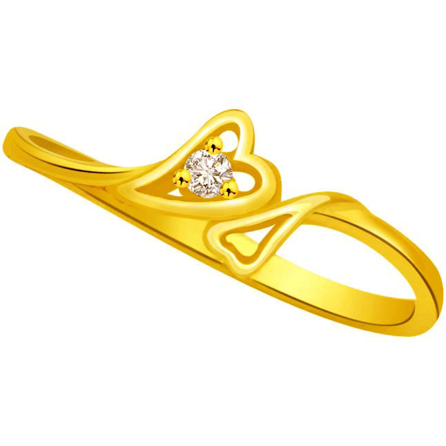Heart Shape Diamond rings SDR673