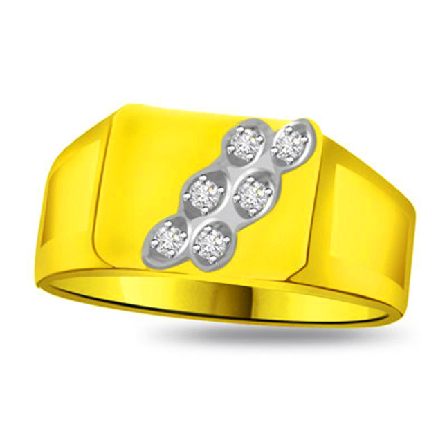 0.12 cts Diamond Designer rings