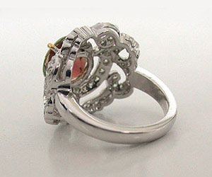 Speechless Beauty (TCW : 4.43 cts) -Couture Collection