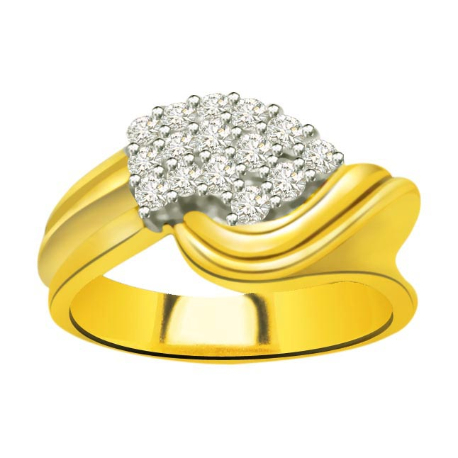 Classic Diamond 18kt Gold rings SDR680