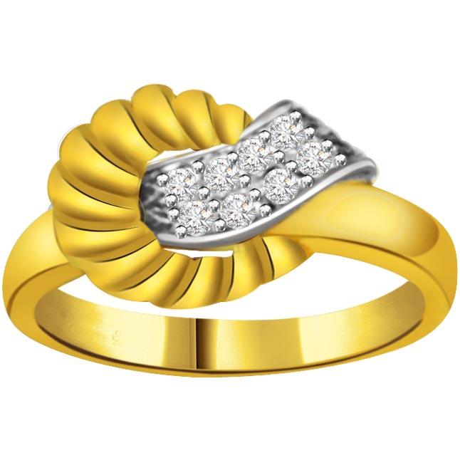 0.24ct Fancy Diamond rings