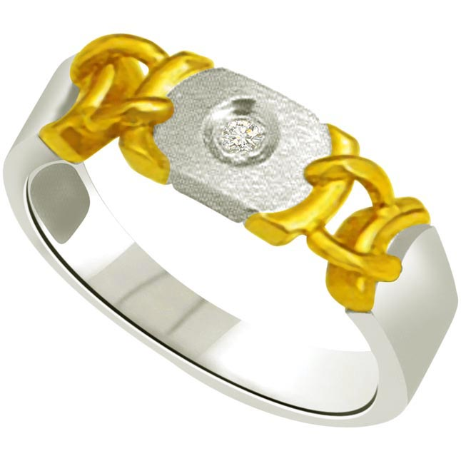 Solitaire Diamond Gold rings SDR707