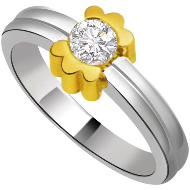 Solitaire Diamond Gold rings SDR708