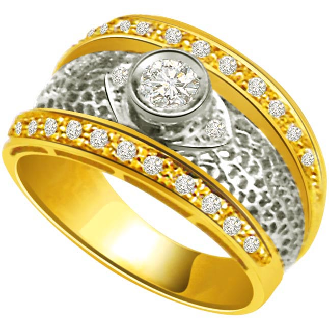 Classic Diamond Gold rings SDR711