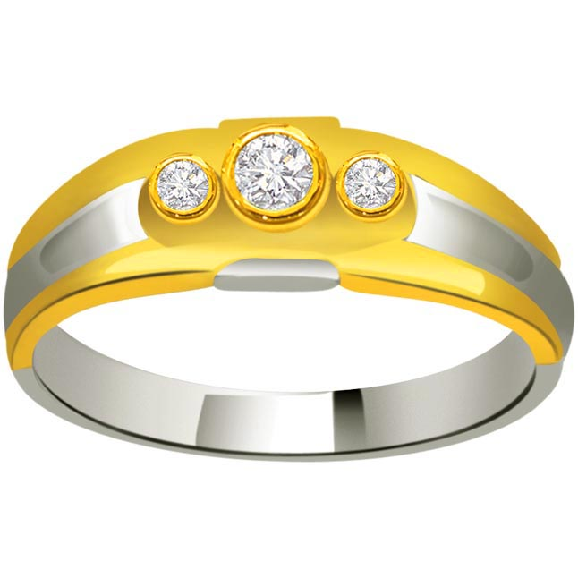 Classic Diamond Gold rings SDR721 -3 Diamond rings