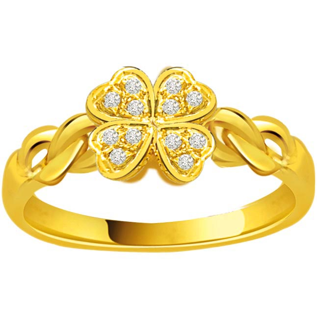 Flower Shape Diamond rings SDR724
