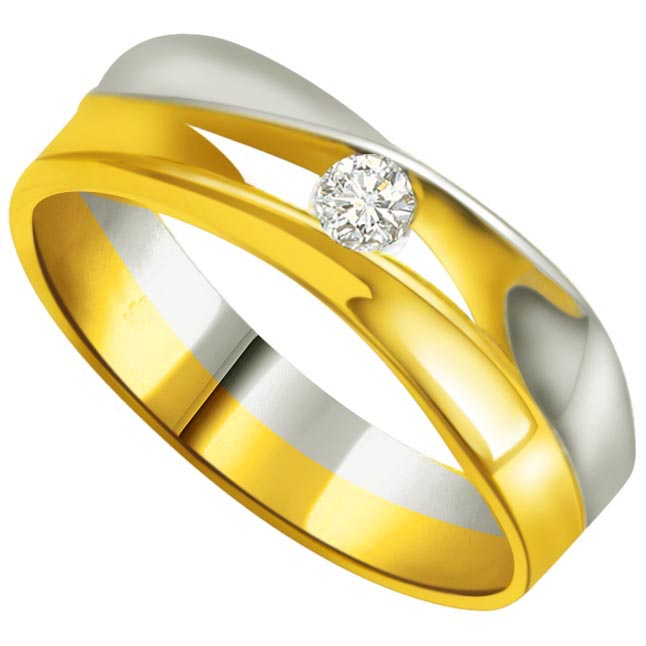 Solitaire Diamond Gold rings SDR732