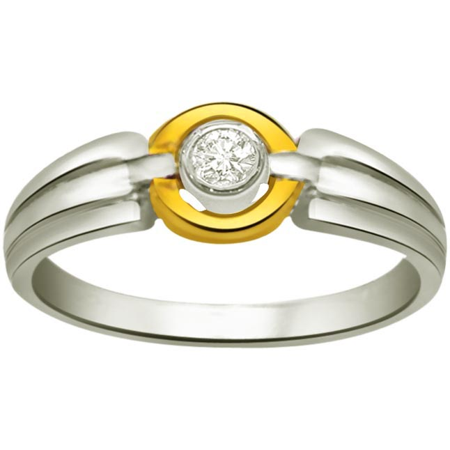 Solitaire Diamond Gold rings SDR738