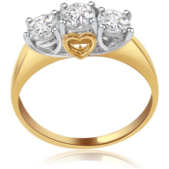 Poetic Beauty -3 Diamond rings