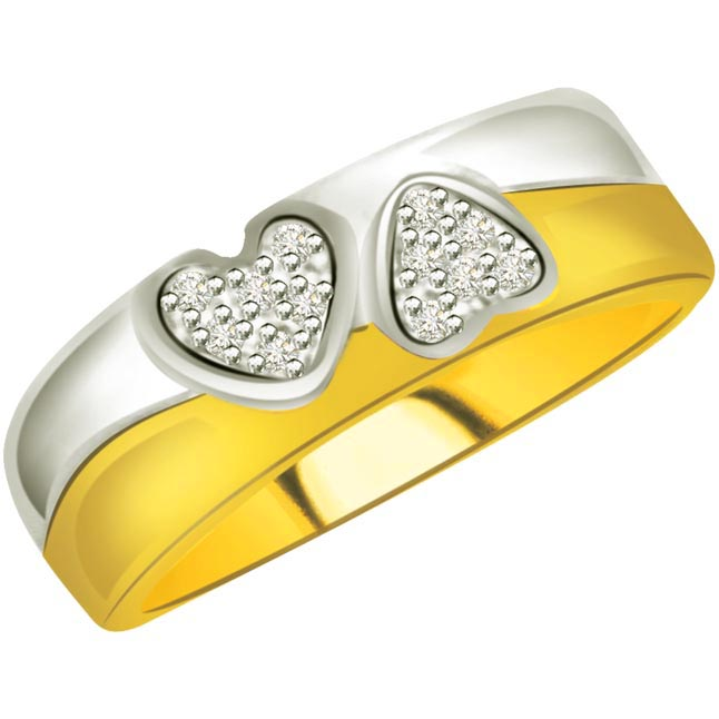 Heart Shape Diamond rings SDR752