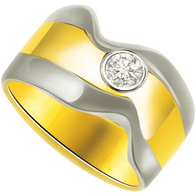 Solitaire Diamond Gold rings SDR757
