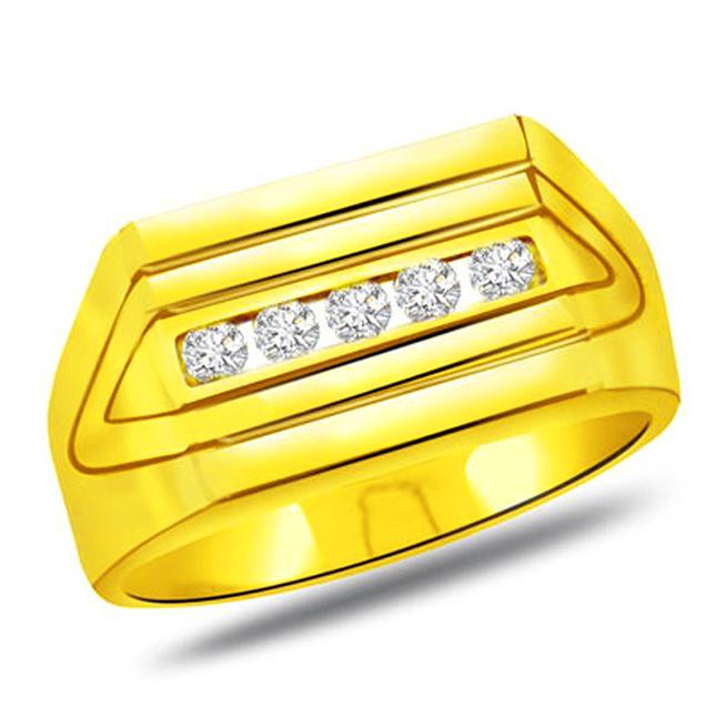 0.25 cts Designer Men's rings