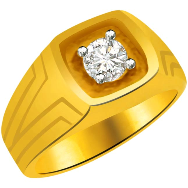 Solitaire Diamond Gold rings SDR807 -Solitaire rings