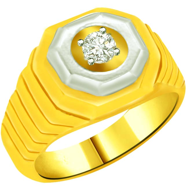 Solitaire Diamond Gold rings SDR810 -Solitaire rings