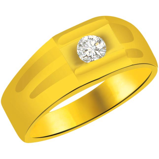 Solitaire Diamond Gold rings SDR811 -Solitaire rings