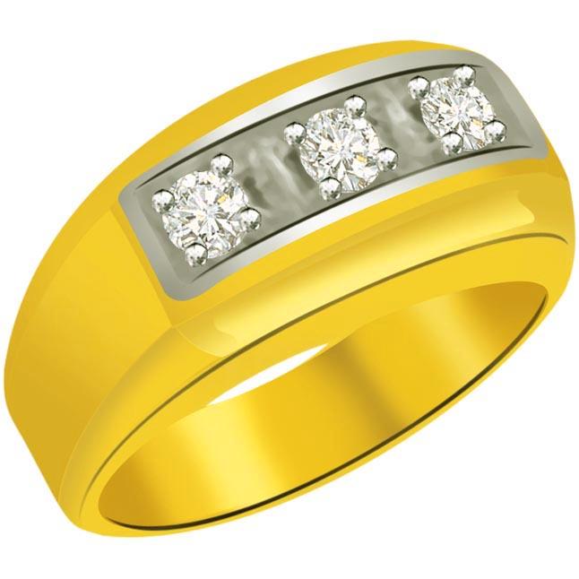 0.30 cts Diamond Designer Men's rings