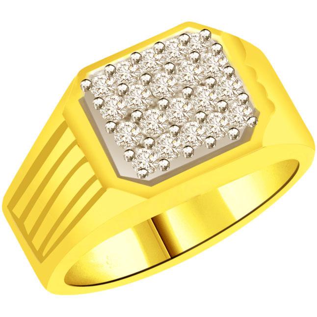 0.40cts Designer Diamond Men's rings