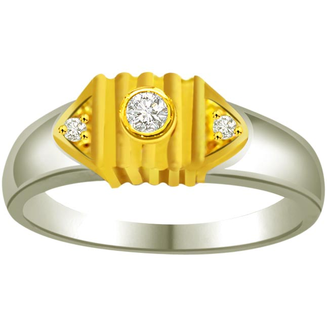 Fine Diamond 18k Gold rings SDR832 -3 Diamond rings