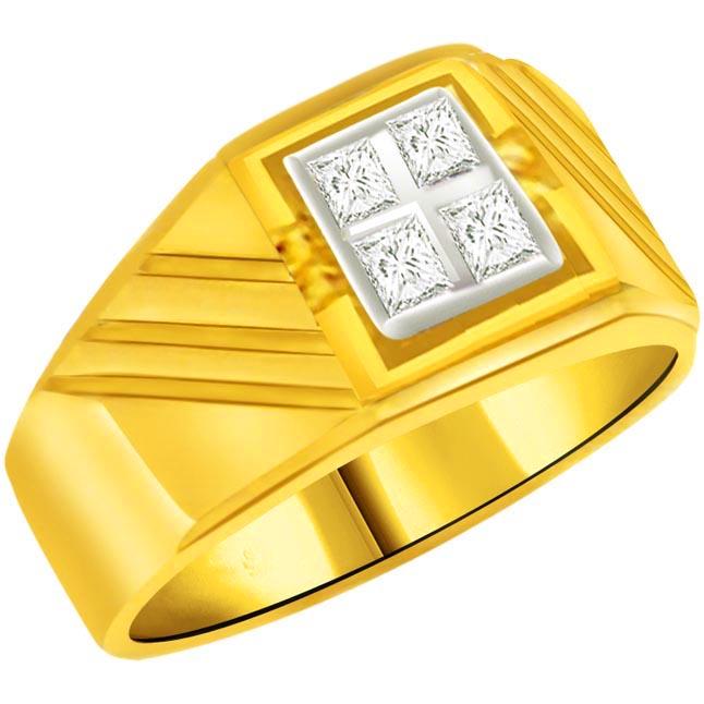 0.20 cts Diamond Men's rings