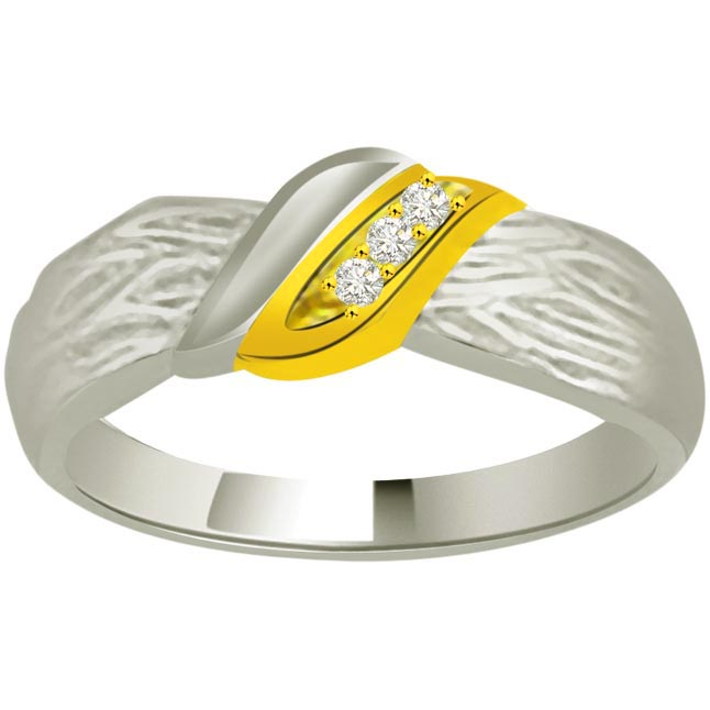 Classic Diamond Gold rings SDR896 -3 Diamond rings