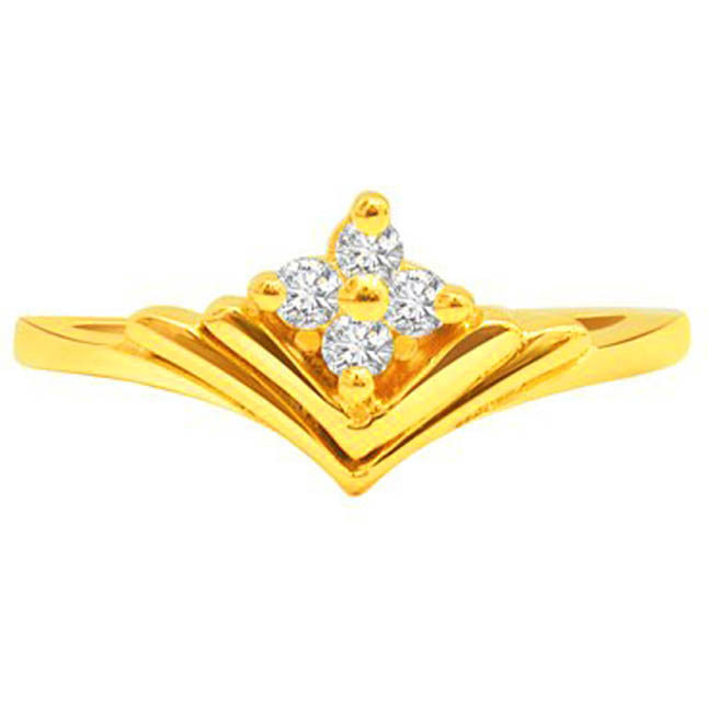 Diamond n Floral Grace