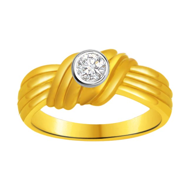 Solitaire Diamond Gold rings SDR919