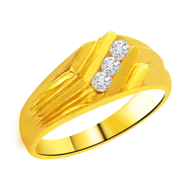 0.10 cts Designer Men's rings