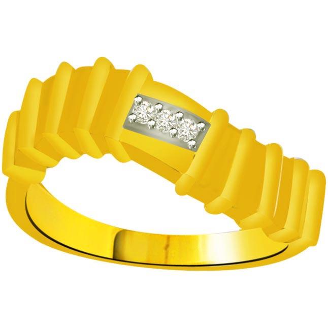 Pretty Diamond Gold rings SDR939 -3 Diamond rings