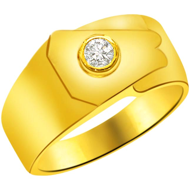 0.07 cts Solitaire Diamond rings -Solitaire rings