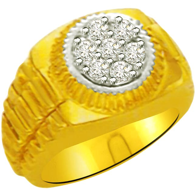 0.28 cts Designer Men's rings