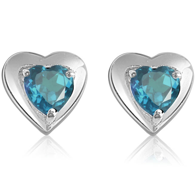 SDS -51 Blue Bling -Gemstone Earrings