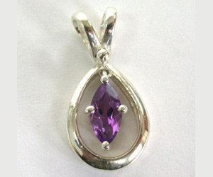 SDS -58 Exceptional Amethyst Pendants