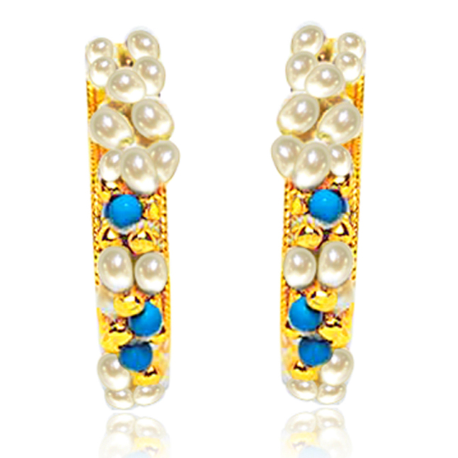 Rapturous Ravishing Earrings -Balis & Hoops