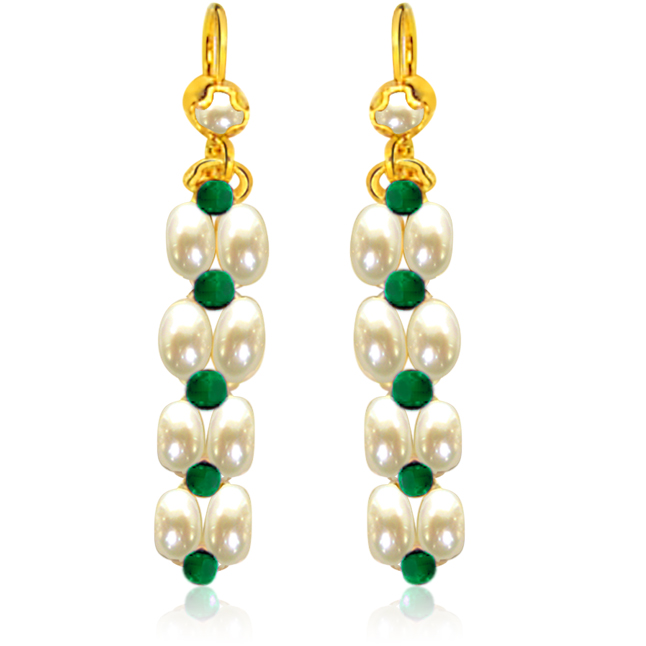 Gorgeous Green Onyx Earrings