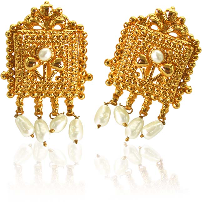 Night Star Pearl Earrings