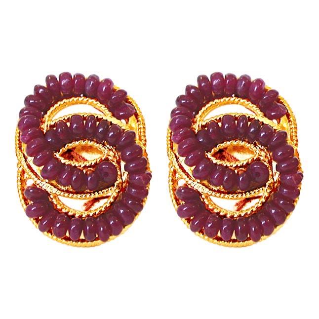 She's Mine Forever -Pres.Stone Earrings