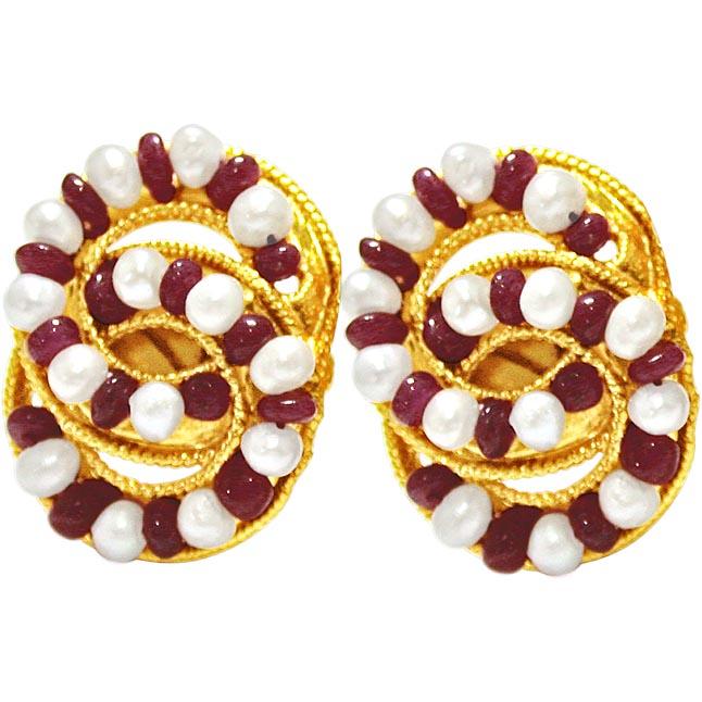 Stylish Sensation Earrings -Pres.Stone Earrings