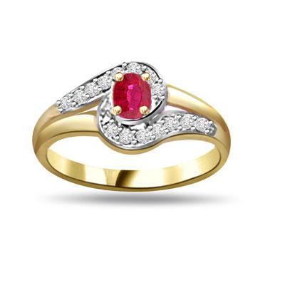 Shimmerings Beauty Diamond & Ruby rings