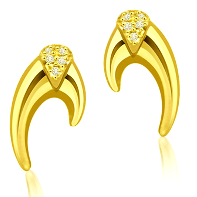 Shimmerings Grace Diamond Earrings -Designer Earrings