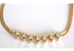 Shinning Stars Beautiful Diamond Necklace DN1110 -Solitaire Mangalsutra