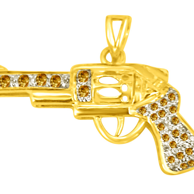 Shoot me up with this Real Diamond gun -Sport Collection