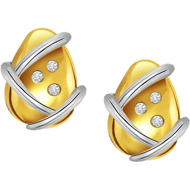 Simple & Sweet Diamond Earrings