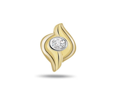 Simple & Trendy -0.07ct Diamond Solitaire Pendants -Solitaire