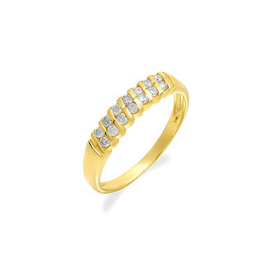 Simple. Strong. Sensible -Yellow Gold Eternity rings