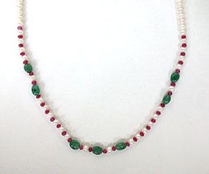 Single n Ready To Mingle? SN407 -Precious Stone Necklace