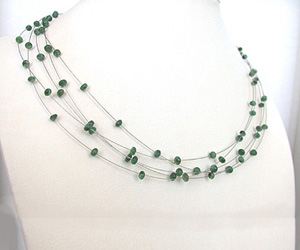 SN -174 Glitterings Green Emerald Enchantment